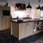 Landelijke keuken kookeiland
