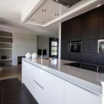 Keuken combinatie wit met donker