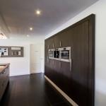 Keuken inbouwkast donker